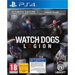 Ubisoft Watch Dogs Legion Ultimate Edition Ps4