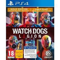 Ubisoft Watch Dogs Legion Gold Edition Ps4