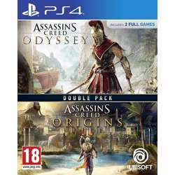 Ubisoft Assassin''S Creed Origins And Assassin''S Odyssey Double Pack - Ps4