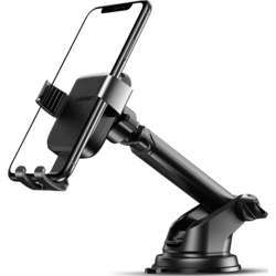 Ugreen Gravity Phone Holder with Suction Cup - Black