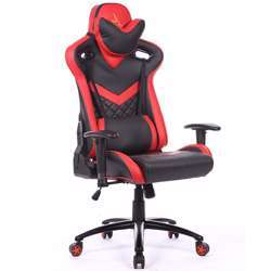 Urban Wave Infinity One Gaming Chair with 2D Adjustable Arms - Mozafar Lisbon Red