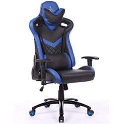 Urban Wave Infinity One Gaming Chair with 2D Adjustable Arms - Blue
