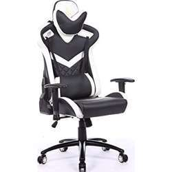 Urban Wave Infinity One Gaming Chair with 2D Adjustable Arms (Lisbon Model) - White