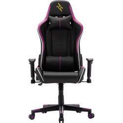 Urban Wave Gaming Chair with Adjustable High Back and 2D Arms (OC Denver Version) - Purple