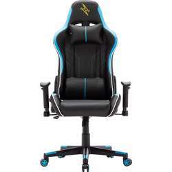 Urban Wave Gaming Chair with Adjustable High Back and 2D Arms (OC Denver Version) - Blue