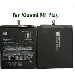 Xiaomi Original Replacement Battery BN39 For Mi Play Authentic Phone Battery 3000mAh