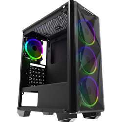 Xigmatek Beast Mid-Tower Case, 158Mm Cpu Cooler Clearance, 240Mm Radiator Support - Black
