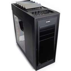 Zalman  Full Tower Computer Case with Automatic Heat Ventilation H1 (Black)