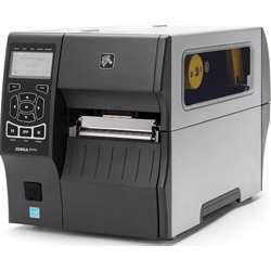 Zebra Zt410 Industrial Thermal Transfer Table Top Printer, 203 Dpi, Monochrome, With 10/100 Ethernet, Bluetooth 2.1, USB Host