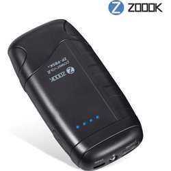 Zoook 5000Mah Power Bank With Flash Light And Battery Indicators (Black)