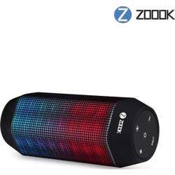 Zoook Zb-Rocker 2 - 10W Voice Control Led Bluetooth Speaker System With Built-In Power Bank Of 4400Mah (Mic,Aux,USB/Tf