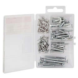 PowerSafe Wood Screw 120 Pcs Kit