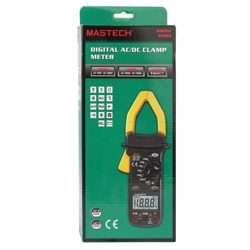 Mastech AC/DC Clamp Meter (1000A) in Soft Case (Gift Box)
