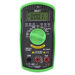 Meet Trms 4000 Count Digital Multimeter With Frequency Capacitance Temperature NCV SPT & NCF