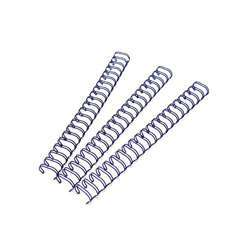 DSB DSBW6.4B Binding Wire 3:1 - 6.4mm, Blue Pack of 100