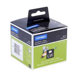 Dymo S0722440 Multi-Purpose Labels - 70 x 54MM, 320 Labels/Roll