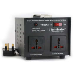 Terminator Power Inverter with Charger 1500W 12V DC to 240V AC (Taiwan)