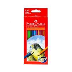 Faber Castell FCI114416 Water Color Pencil, Assorted Pack of 12