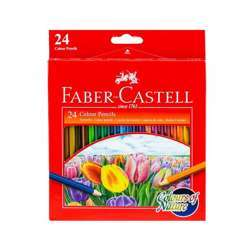 Faber Castell FCI114426 Nature Colour Pencil, Assorted Pack of 24