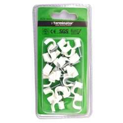 Terminator Cable Clips 9mm 20Pcs