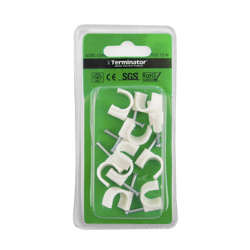 Terminator Cable Clips 12mm 10Pcs
