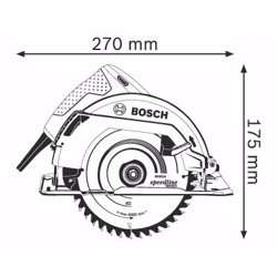 Bosch GKS 7000 Professional Hand-Held Circular Saw 1,100 W -184 mm