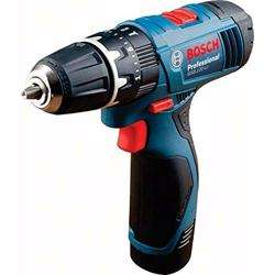 Bosch GSB 120-LI 12V Impact Drill 2x 1.5Ah, GAL1210CV, Carrying Case