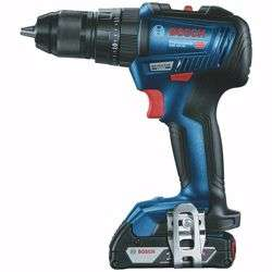 Bosch GSB 18V-50 Brushless 2x2.0 Ah. Batt 18 V. 13mm Dynamic Impact Drill Brush Less, 2x 2.0, AL 1860, Case
