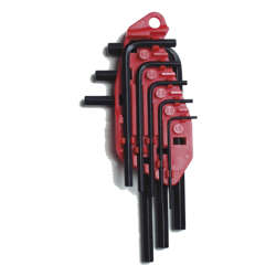 Stanley 0-69-253 8 & 10-Piece Straight Male Elbow Hex Key Sets