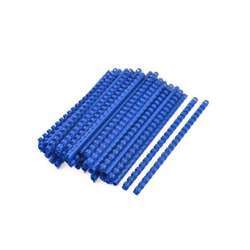GBC 4028620 CombBind Round Binding Comb - A4, 21 Ring, 16mm, Blue Box Of 100