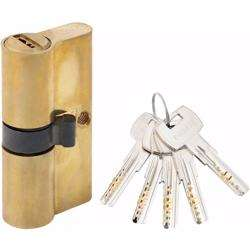 Double Cylinder Door Lock With Dimple/Computerized Key 6 Pin Gold 60 mm preview