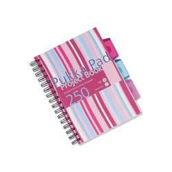 Pukka Pad PROB Wirebound Project Book - 3 Dividers, 80gsm, 250 Pages, A5, Assorted Color
