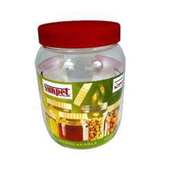 Sunpet Food Storage Canisters, Plastic, Red