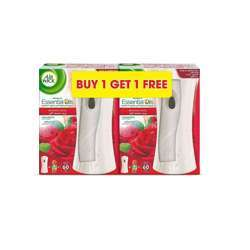 Air wick Air Freshener Freshmatic Auto Spray Kit, Midnight Rose, 2 Gadgets and 2 Refills