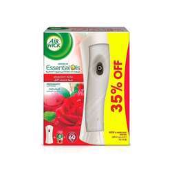 Air Wick Air Freshener Freshmatic Auto Spray Midnight Rose - Gadget and 1 Refill