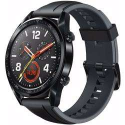 Huawei Watch GT- Black Stainless Steel Silicon Strap preview