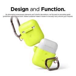 Elago 2nd Generation Airpods Hang Case - Neon Yellow preview