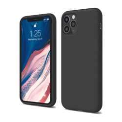 Elago Silicone Case for iPhone 11 Pro - Black preview