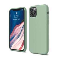 Elago Silicone Case for iPhone 11 Pro Max - Pastel Green preview