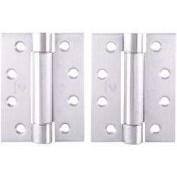 """Dorfit Single Action Self-Closing Spring Hinges For Door 4""""x4""""x3 mm preview"""