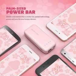 RAVPower 6700mAh Power Bank with iSmart 2.0 Technology - Pink preview