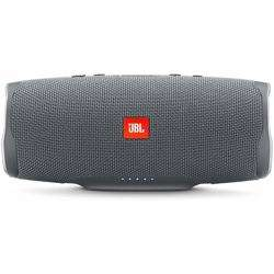 JBL Splashproof Portable Bluetooth Speaker With Usb Charger Charge4- Gray preview
