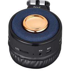 ZB-Soul Premium Bluetooth Headphone with TF/FM Radio/ Aux-in and Microphone - Black preview