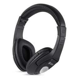 ZM-Rocker-Flame Headphone with Mic & extra BASS Single 3.5mm Connector - Black preview