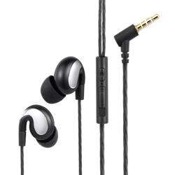 ZM-Alpha Zoook Alpha Universal HD Earphones with Mic - Black preview