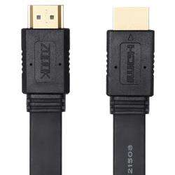 ZT-HDF1.8M Zoook ZT-HDF1.8M Ultra Flat high-speed HDMI cable with Ethernet and Gold-Plated Connectors (1.8 Meter) - Black preview