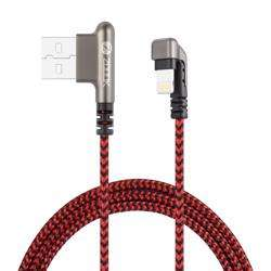 ZF-iElbow 180 Zoook ZF-iElbow U Shape Metal Connector Pure Copper Cable- Nylon Braided Red/Black preview