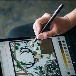 ADONIT Ink Stylus For Windows Powered Tablets And 2 In 1 Devices Black preview