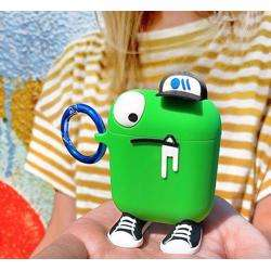 CASE-MATE AirPod Case - CreaturePods Chuck The Cool Guy (Green) preview