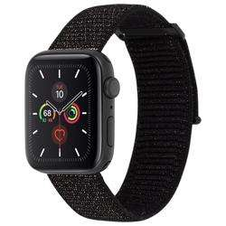 CASE-MATE 38-40mm Apple Watch Nylon Band - Mixed Metallic Black preview
